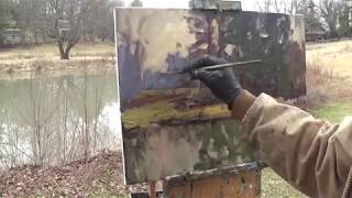 Kyle Buckland Plein Air Landscape Oil Painting Demonstration Art Demo