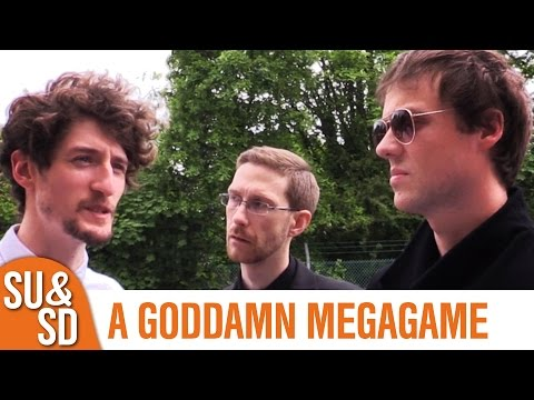 Watch The Skies - Shut Up & Sit Down Play a Goddamn Megagame!