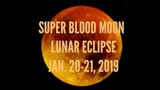 "AQUARIUS ""FULL MOON LUNAR ECLIPSE IN LEO"" JAN. 20-21, 2019 TAROT READING"