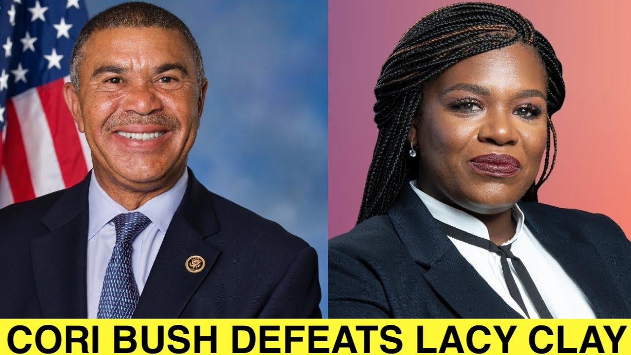 Cori Bush Defeats William Lacy Clay in a Show of Progressive Might