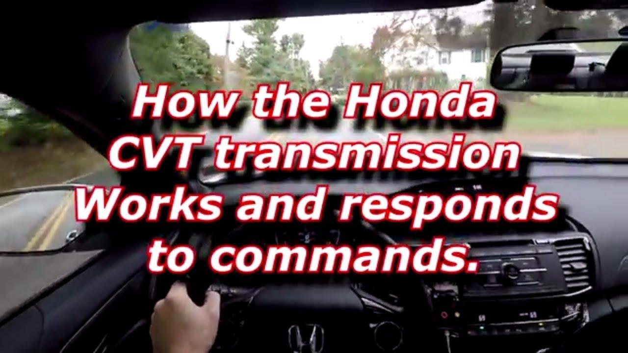 Honda Cvt Transmission Explained 2017 Accord Sport Special Edition