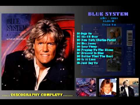 BLUE SYSTEM - JUST SAY NO