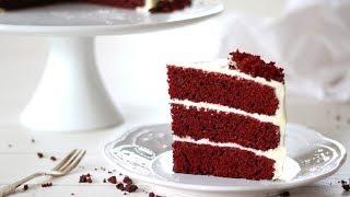 Red Velvet Cake Recipe  How to Make Red Velvet Cake with Cream Cheese Frosting