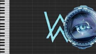 Alan Walker - The Spectre (Piano Tutorial)