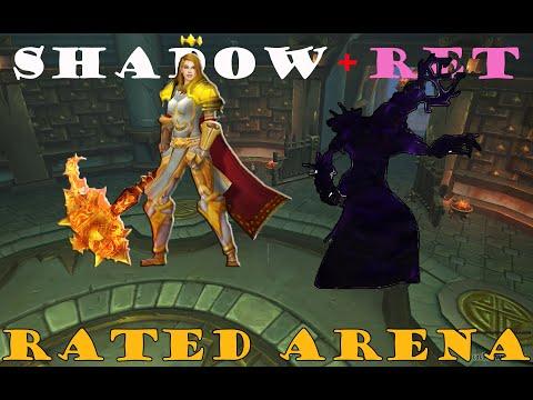 BFA Shadow Priest PVP: 2v2 (SP+Ret)