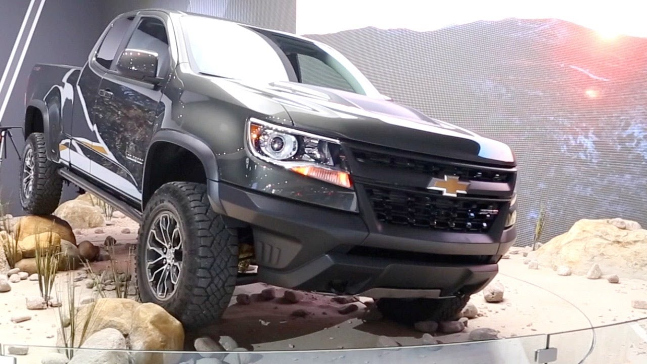 2017 chevy colorado zr2 2016 la auto show youtube. Black Bedroom Furniture Sets. Home Design Ideas