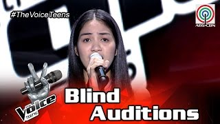 The Voice Teens Philippines Blind Audition: Shell Tenedero - Kung Ako Na Lang Sana