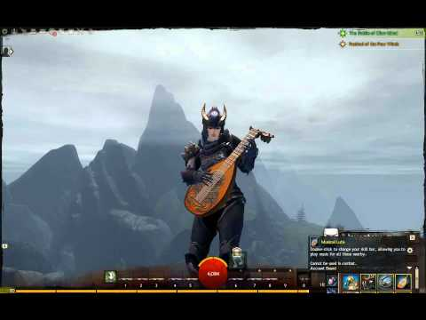 Alesahna GW2 Lute - Dragonborn Comes from TES V: Skyrim