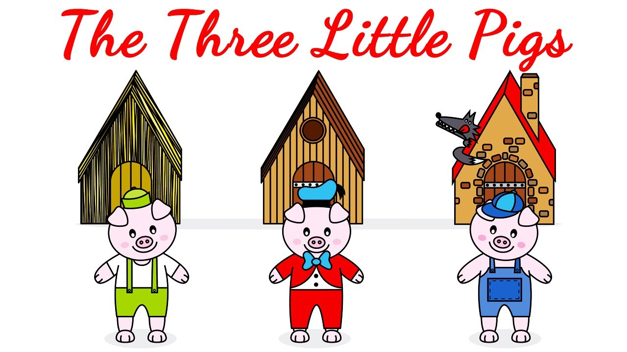 Uncategorized The Three Little Pigs Story the three little pigs and wolf fairy tales full story time baby bedtime youtube