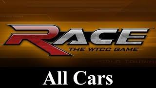 Race: The WTCC Game Car List