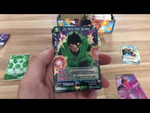 Dragonball Card game opening(1/2) |