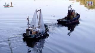 "Carson ""CUX-13"" RC Fishing Cutter"