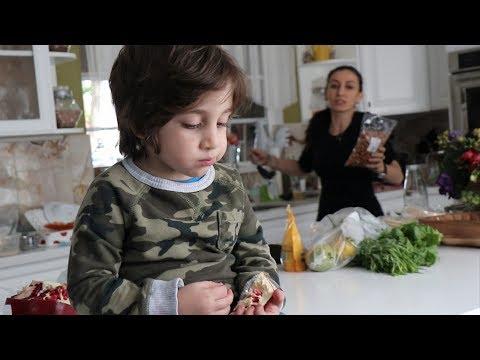 Կարմիր Ընկույզ - Heghineh Armenian Family Vlog 209 - Հեղինե - Mayrik by Heghineh