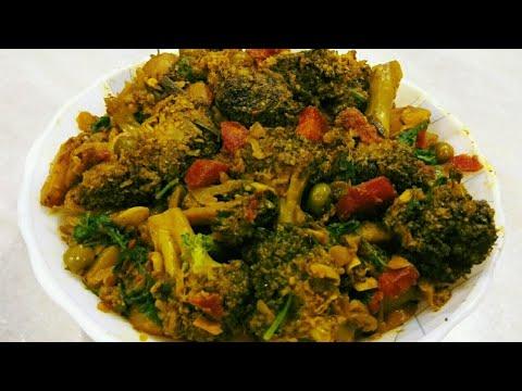 Masala Broccoli/Restaurant Style Broccoli Recipe/Broccoli Mix Veg/ब्रोक्कोली की सब्जी/मसाला ब्रॉकोली