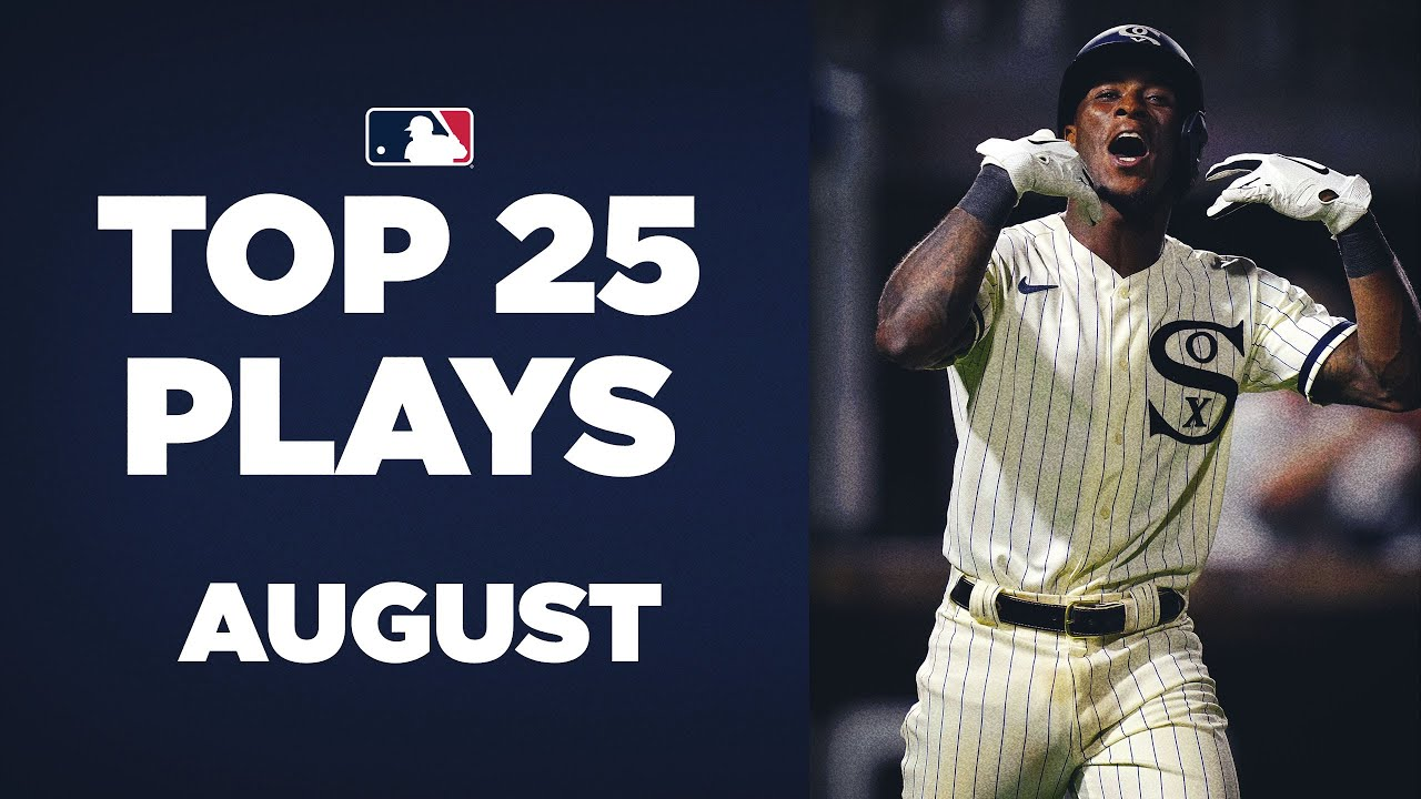 Top 25 Plays of August! Field of Dreams, Miguel Cabrera 500th homer, and so much more!