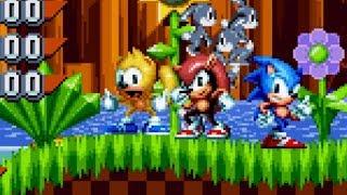 Team Sega Sonic - Sonic Mania Heroes - Sonic Mania Plus