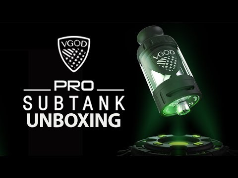 UNBOXING THE PRO SUBTANK | VGOD