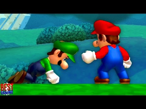 New Super Mario Bros. U Walkthrough - Acorn Plains 100% Guide (Every Star Coin and Secret Exit)