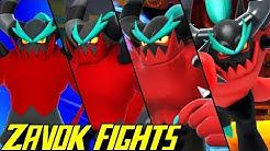 Evolution of Zavok Battles in Sonic Games (2013-2019)