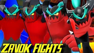 Evolution of Zavok Battles in Sonic Games (2013-2019)