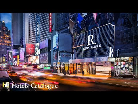 Renaissance New York Times Square Hotel Tour – Luxury Hotels In New York
