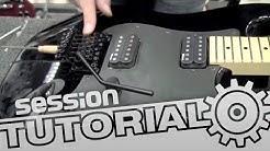 Saiten wechseln an Gitarren mit Floyd Rose System | session Tutorial