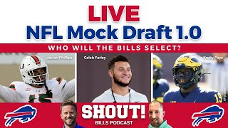 NFL Mock Draft 2021: 1.0 - Who will Bills select at 30? What about a trade up/down?