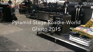 Roadie world, Pyramid Stage, Glastonbury 2015 - Motorhead on stage