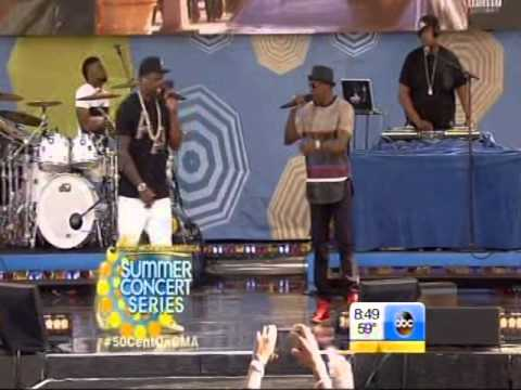 Big Rich Town - By 50 cent - On GMA