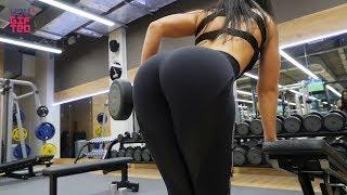Эффективная тренировка спины и рук. Упражнения на дельту и бицепс от чемпионки Марии Морозовой