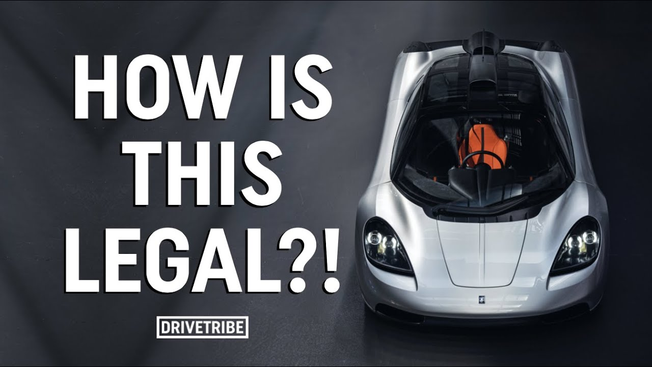 How the hell do you make a fan car road legal? – The nerdiest of car chats with Gordon Murray