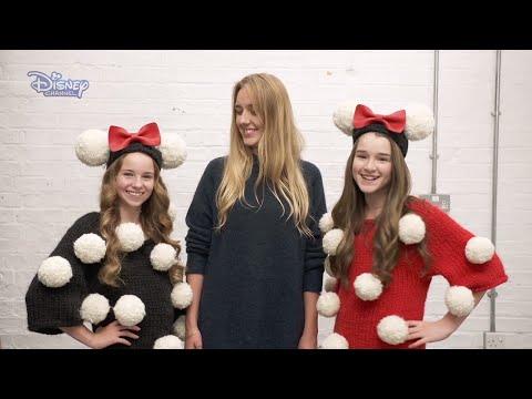Modowe wyzwanie Minnie | Dziergane ubranie | Disney Channel Polska