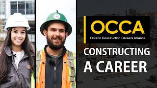 OCCA - Constructing a Career