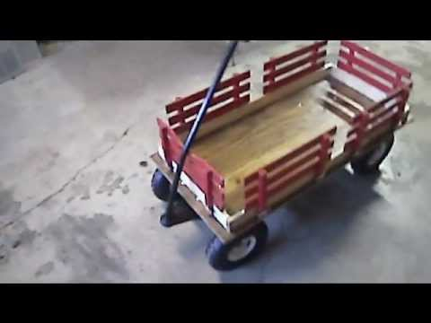 Rebuilt Radio Flyer Wagon