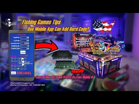 Fishing Game Cheat Tips | How To Use Mobile App To Add Hard Code Or Time Code Control Fishing Games