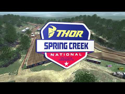 2020 Spring Creek National Animated Track