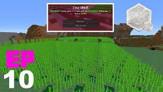 EliteCraft 2 - EP10 - Mi primera muerte y granja de caña
