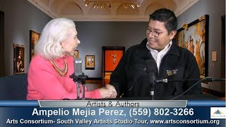 Ampelio Mejia Perez talks about the Arts Consortium & South Valley Artists' Studio Tour