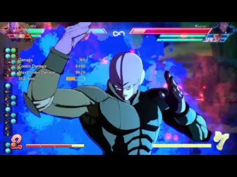 DBFZ - Hit ToD Combo| Solo| No DHC|