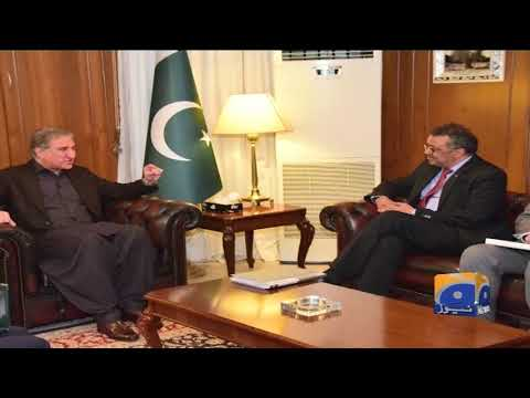 Breaking News - DG Who Meets Foreign Minister Shah Mahmood Qureshi