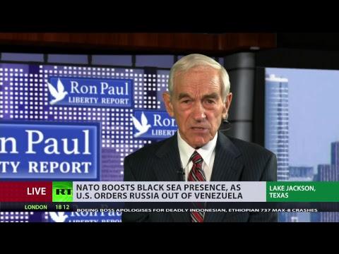 Ron Paul on NATO 70th anniversary & Julian Assange