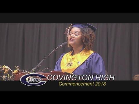 Covington High School Graduation 2018