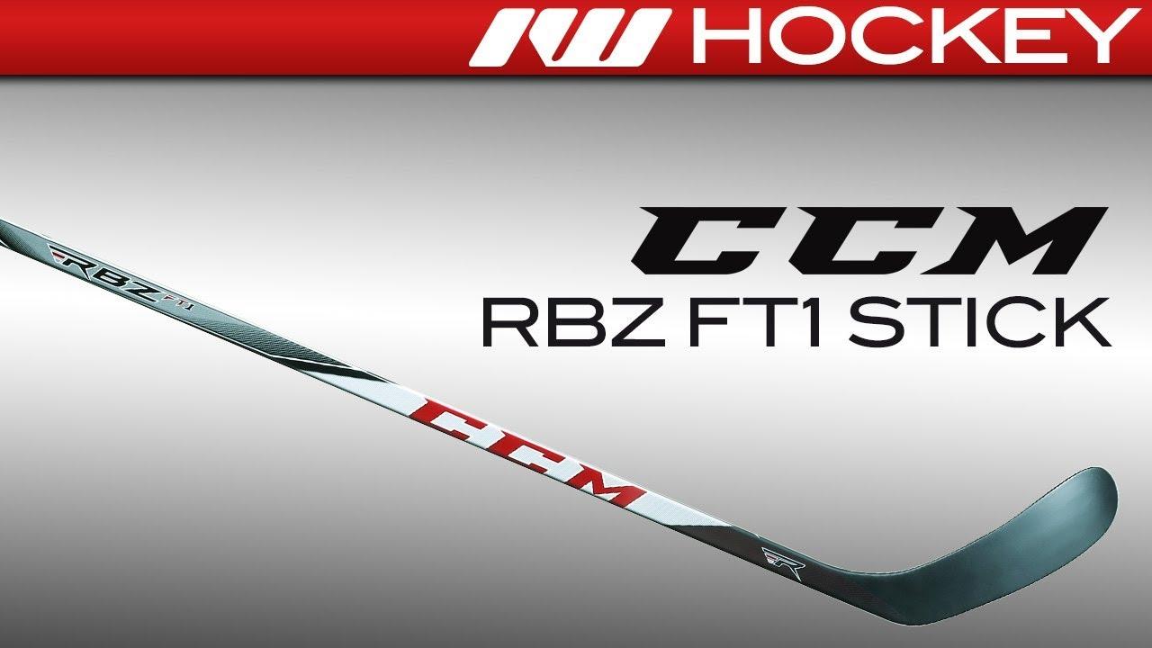 b37ce715ae0 CCM RBZ FT1 Stick Review - YouTube