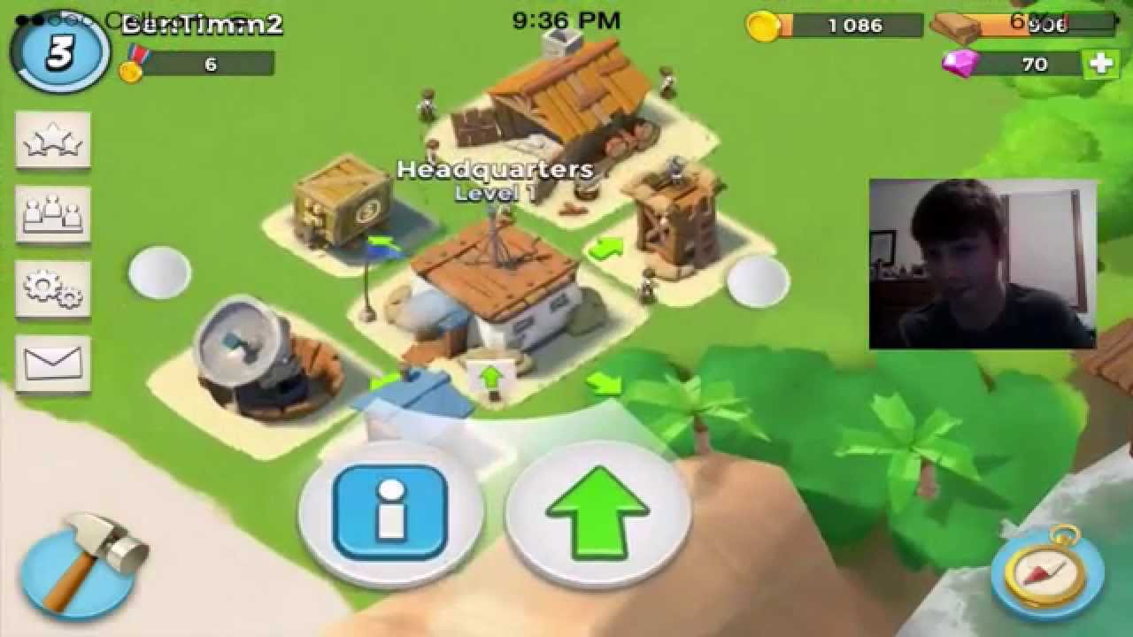 how to get to level 65 on boom beach