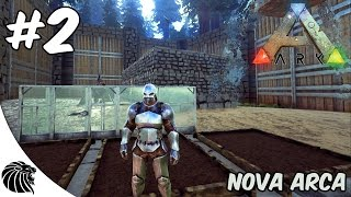 ARK SURVIVAL EVOLVED - TERROR BIRD E CASA DE VIDRO [ISLAND] #2