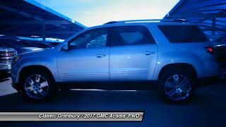 2017 GMC Acadia Granbury TX, Weatherford TX, Cleburne TX 213440