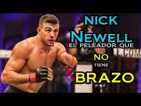 El peleador de MMA que triunfa con un solo BRAZO - Nick Newell