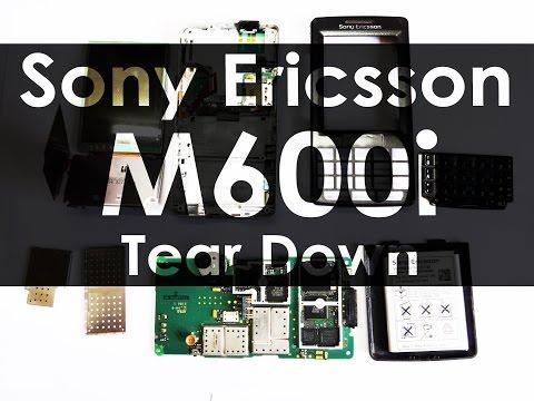 Sony Ericsson M600i Retro Tear Down