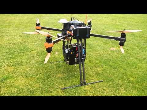 Golf course survey UAV lidar