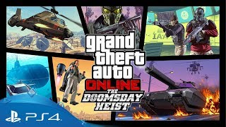 GTA Online | The Doomsday Heist Official Trailer | PS4